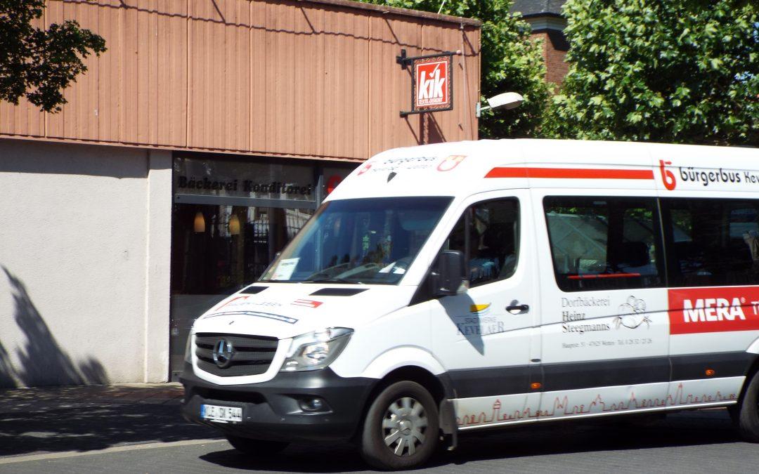 Neue Stadtbuslinie für Kevelaer – CDU Kevelaer setzt auf eine vielfältige Netzstruktur